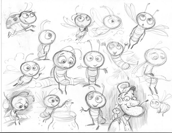 600x465 Behind The Scenes With The Illustrator Creating A Children's Book