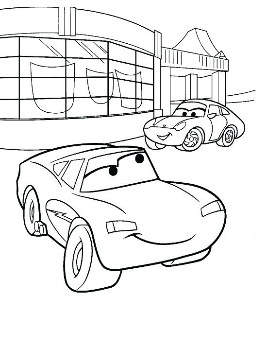 550x716 Coloring Pages Lightning Mcqueen Lightning Coloring Pages Cars 2