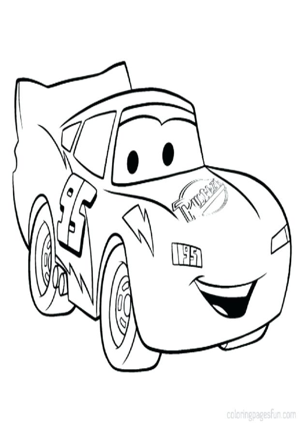 618x872 Coloring Pages Of Lightning Mcqueen Free Lightning Coloring Pages