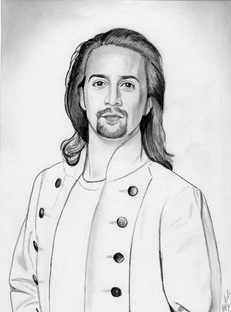 769x1038 Alexander Hamilton (Graphite Drawing) My Art
