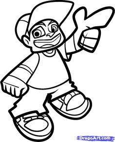 236x292 Firme Dibujo Lil' Rob Dibujo