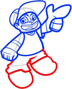 243x302 How To Draw How To Draw Lil Rob, Wild Grinders