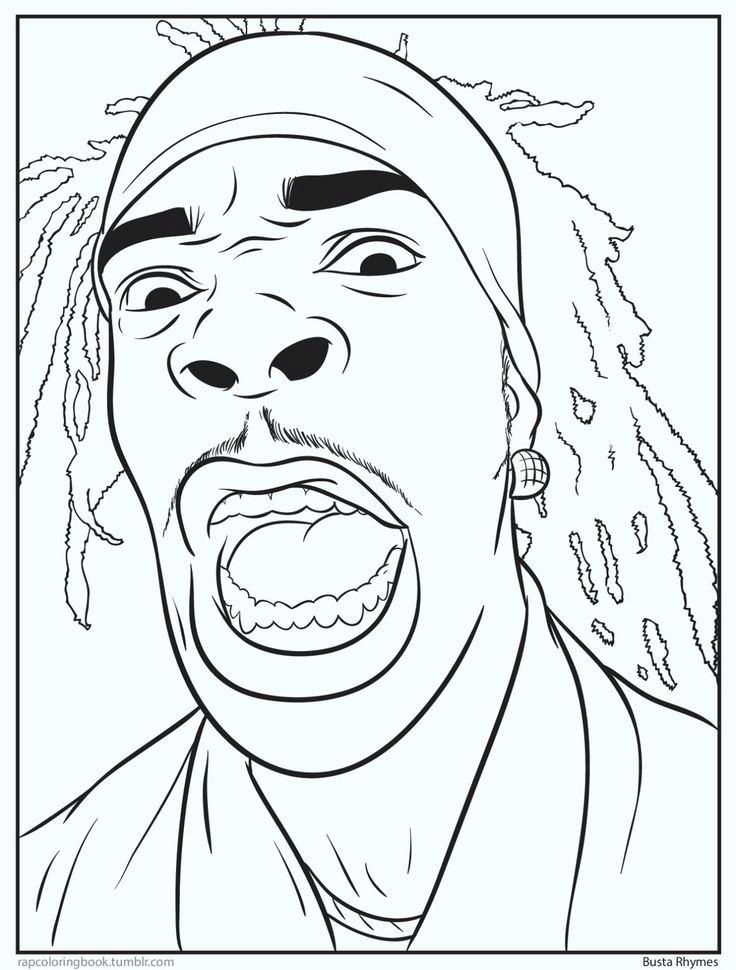 rap star coloring pages - photo#8