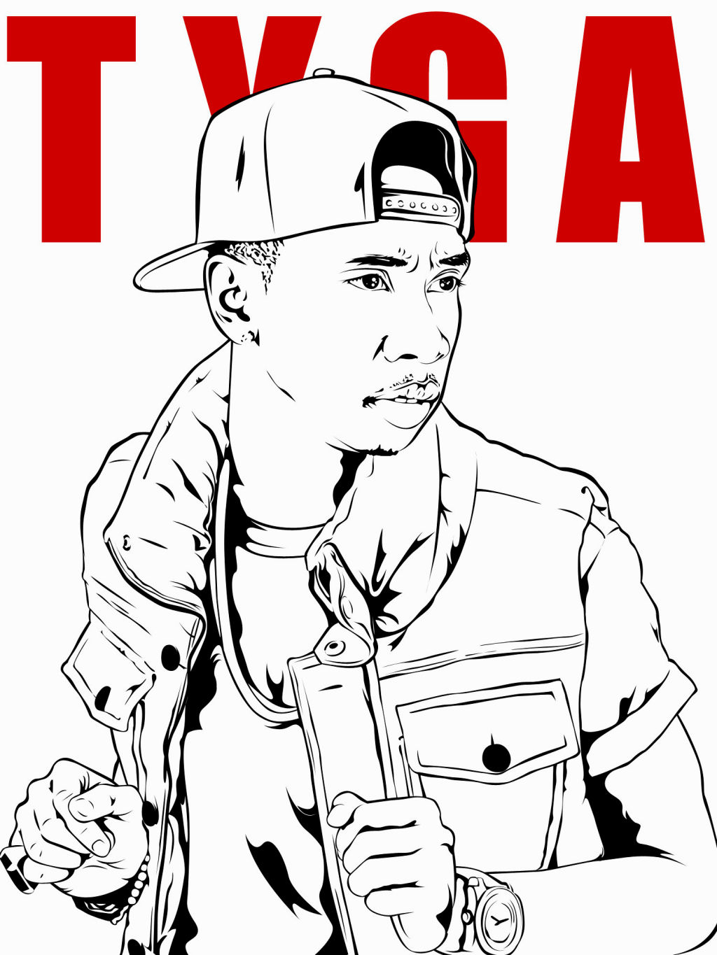 1024x1365 Lil Wayne Coloring Pages Coloring Pages Lil Wayne