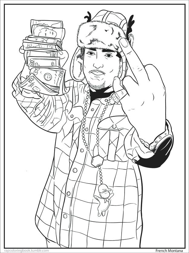 625x834 Lil Wayne Coloring Pages Preschool In Good Draw Image Kids