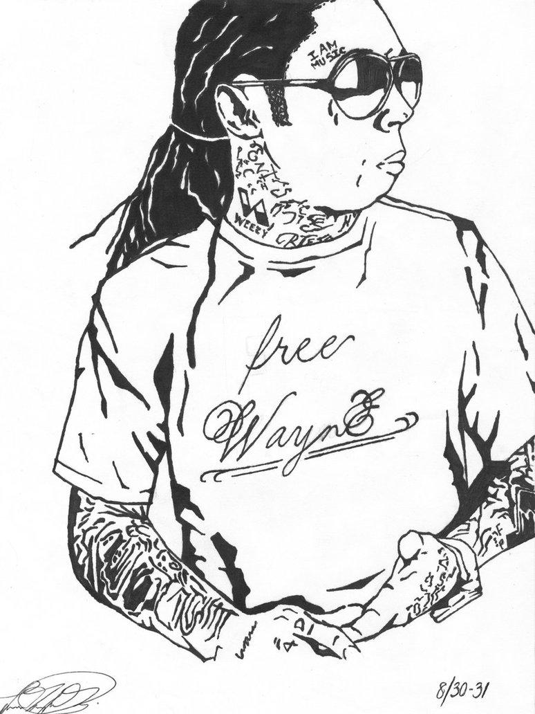 774x1032 Lil Wayne Dedication 3 By Teedee03