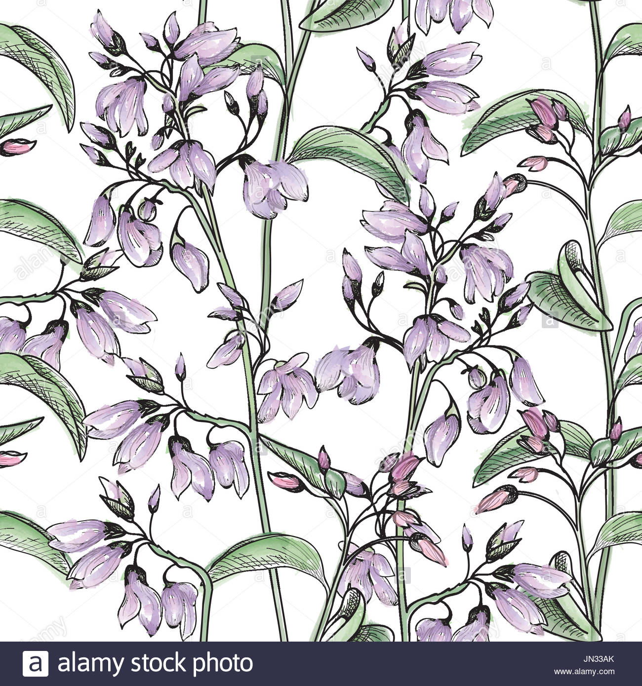 1300x1390 Floral Seamless Pattern. Flower Watercolor Background. Flourish