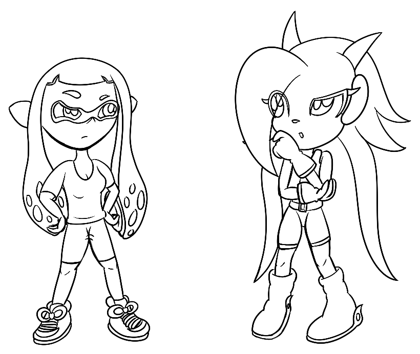 820x692 Lilac And Inkling (Lines Only