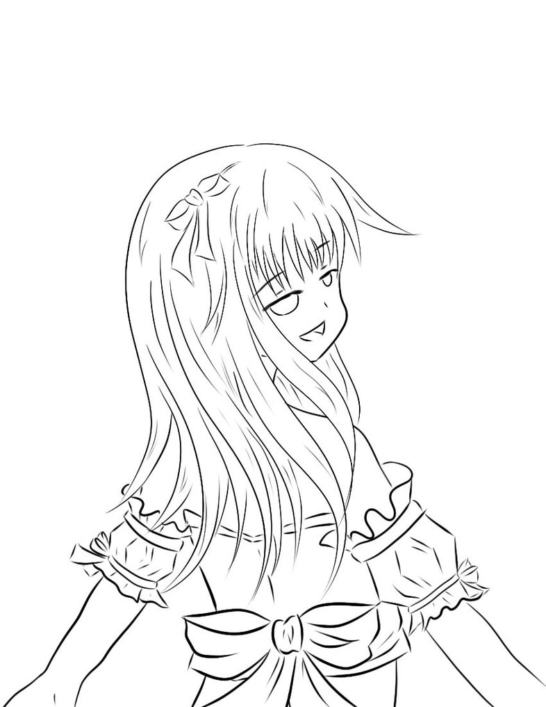 786x1017 Line Drawing By Lilac Ulluco