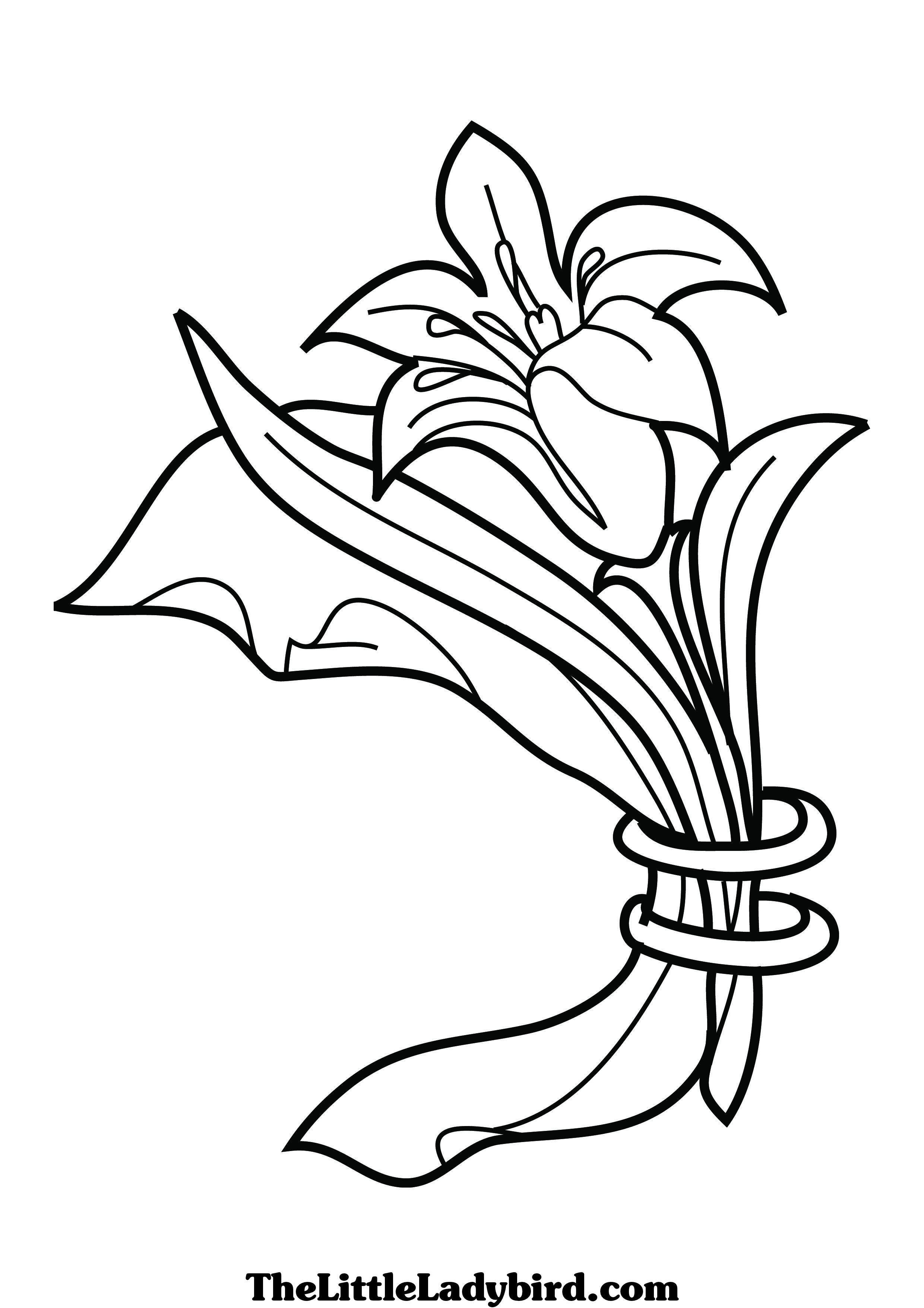 2480x3508 Flowers Coloring Pages