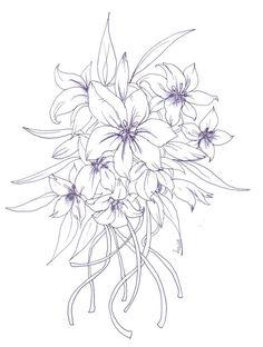 236x312 Korean Carnation Tattoo