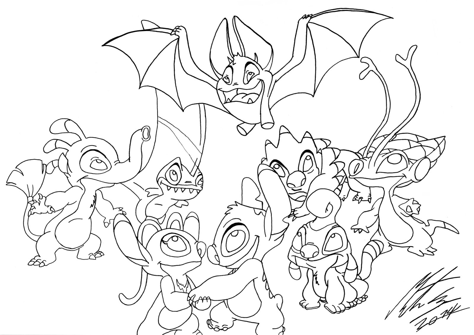1600x1131 Disneys Lilo And Stitch