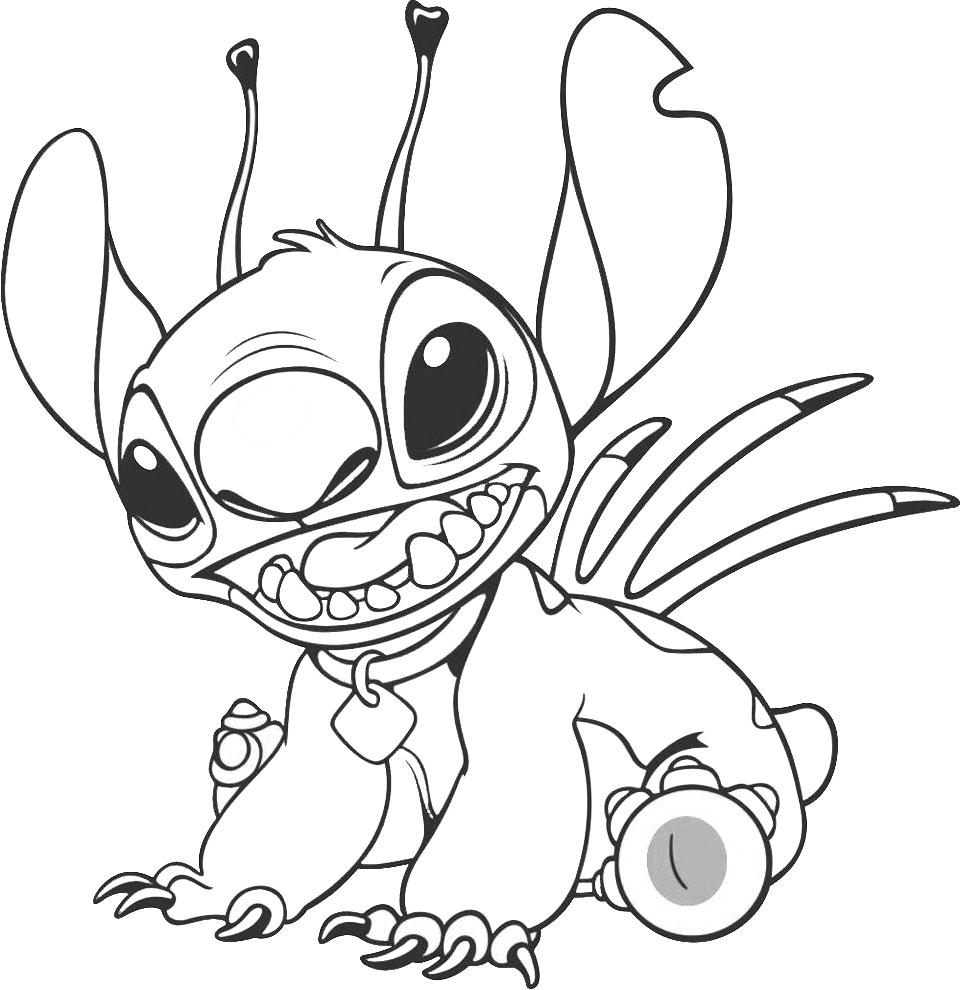 Lilo Stitch Drawing at GetDrawings.com | Free for personal use Lilo ...