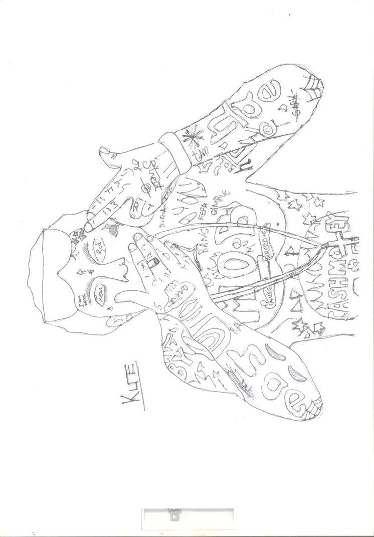 746x1071 Lil Wayne By Lil Kune