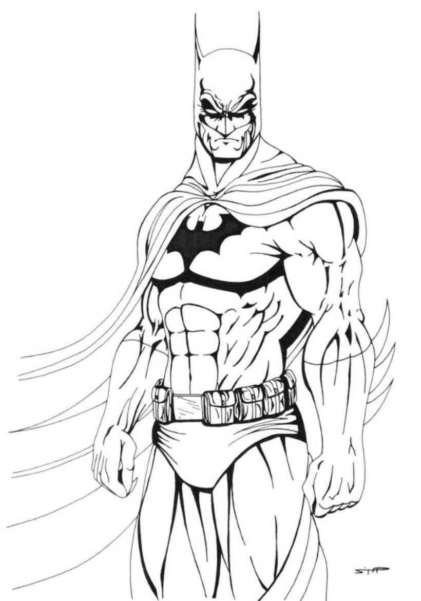 820x1170 Download And Print Cool Batman Coloring Pages For The Boy