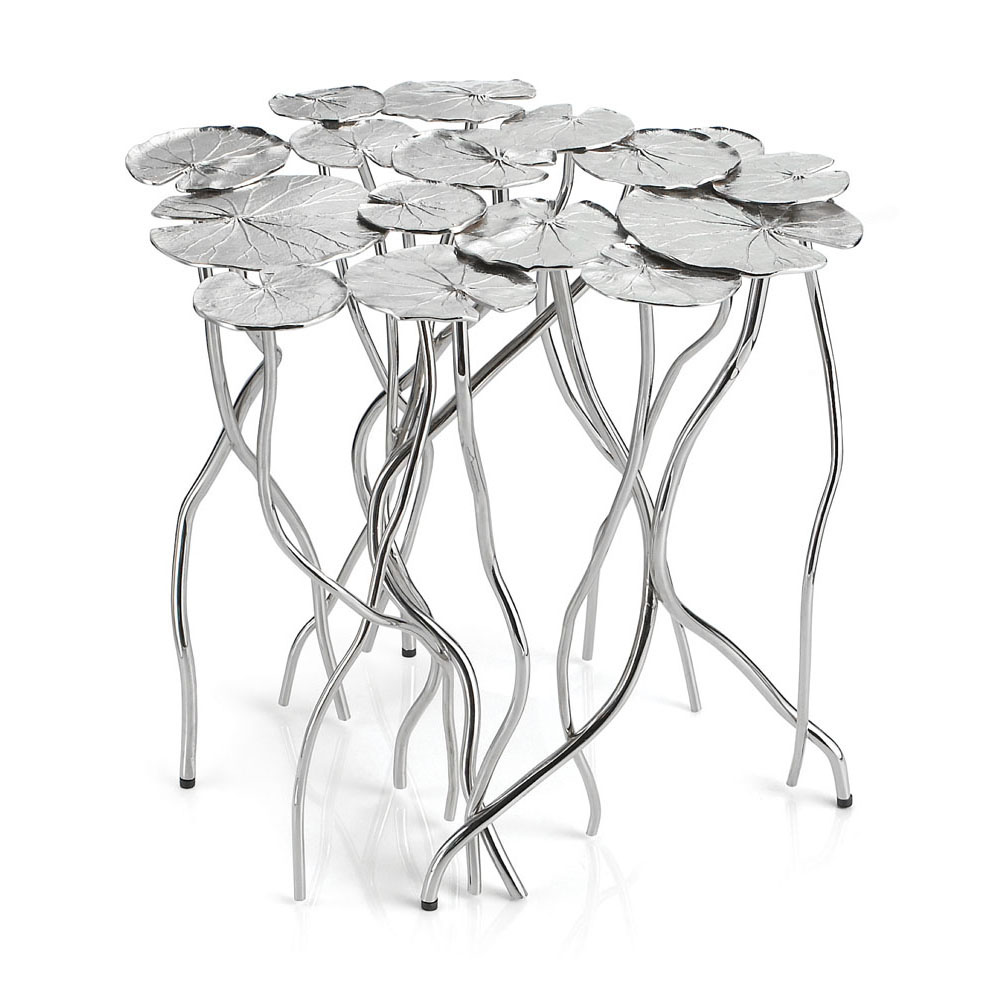 1000x1000 Lily Pad Accent Table