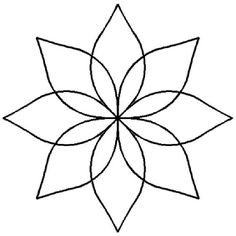 236x236 Lily Pad Pattern. Use The Printable Outline For Crafts, Creating