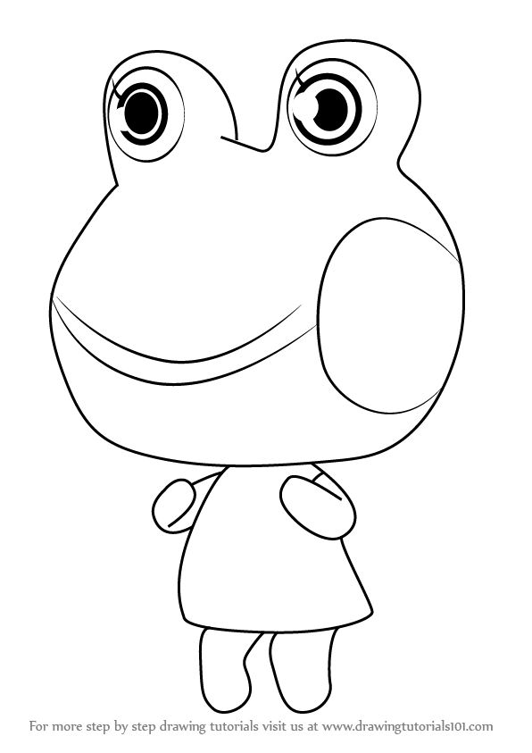 596x843 Learn How To Draw Lily From Animal Crossing (Animal Crossing) Step