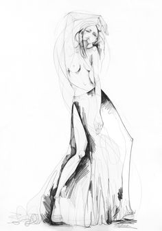 236x336 Limbo' New Drawing From My Black And White Collection ) Bebika
