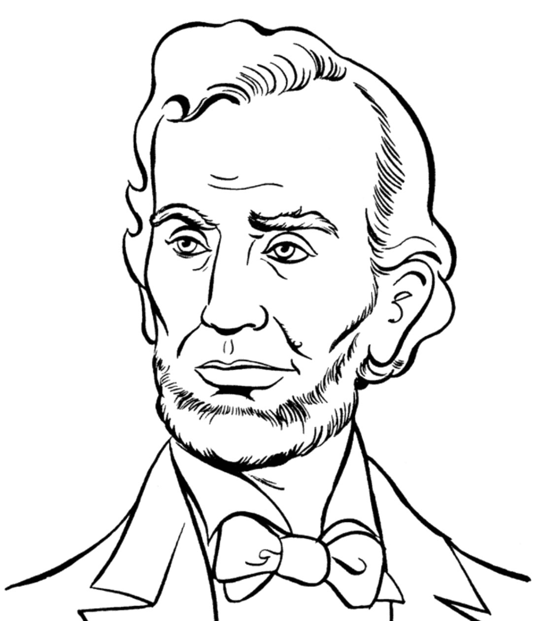 1092x1259 Abraham Lincoln Presidents Day Coloring Pages Abraham Lincoln