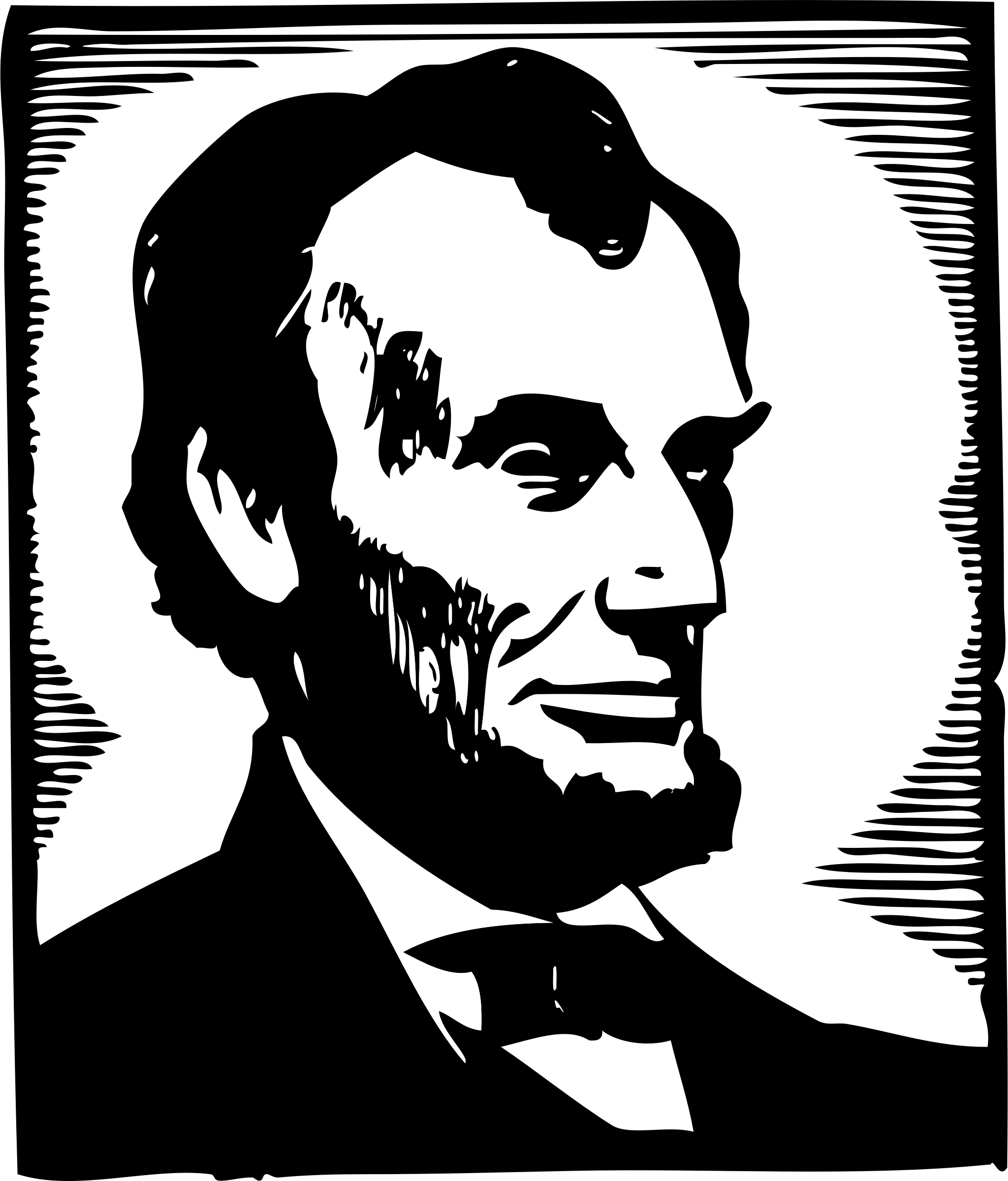 2048x2400 Abraham Lincoln Coloring Pages
