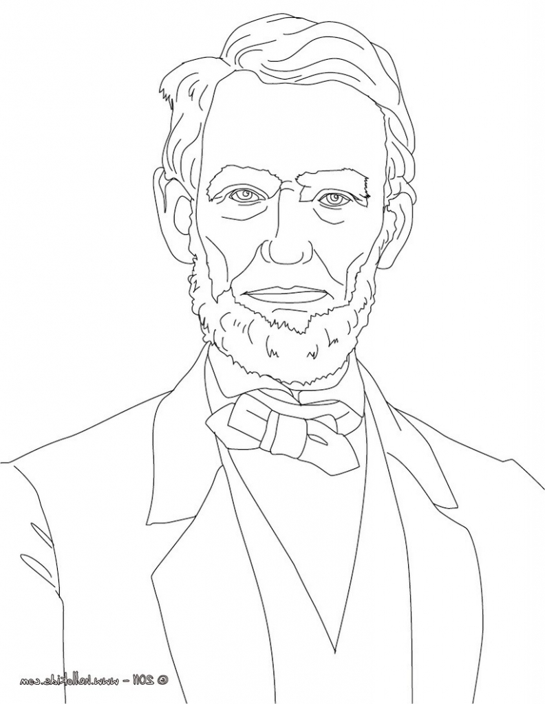 792x1024 Abraham Lincoln Drawing How To Draw Abraham Lincoln, Stepstep