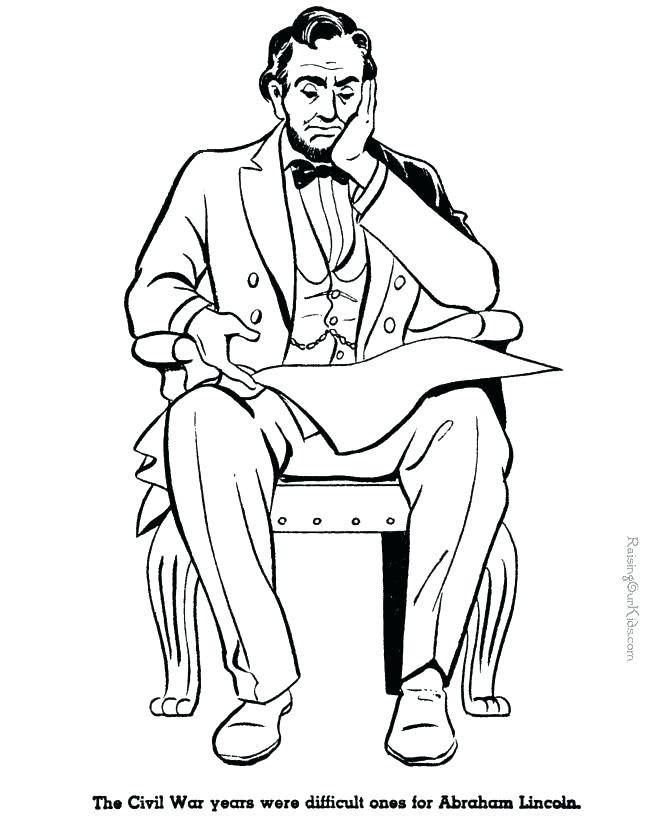 670x820 Lincoln Memorial Coloring Page
