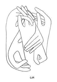 236x341 Face Sketches Minimal