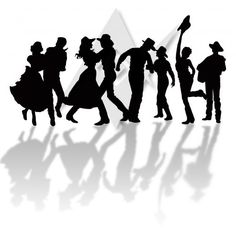 236x237 Line Dancing Clip Art Country Line Dancing Clipart A Country