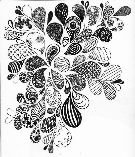 543x630 Inspire Doodles, Thomas Merton And Zentangles