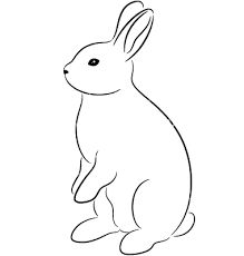 219x230 Drawing A Bunny Rabbit Drawing Of Bunny Rabbit Clipart Best