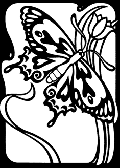235x328 Butterfly Drawings Let Your Creativity Fly In Easy Steps