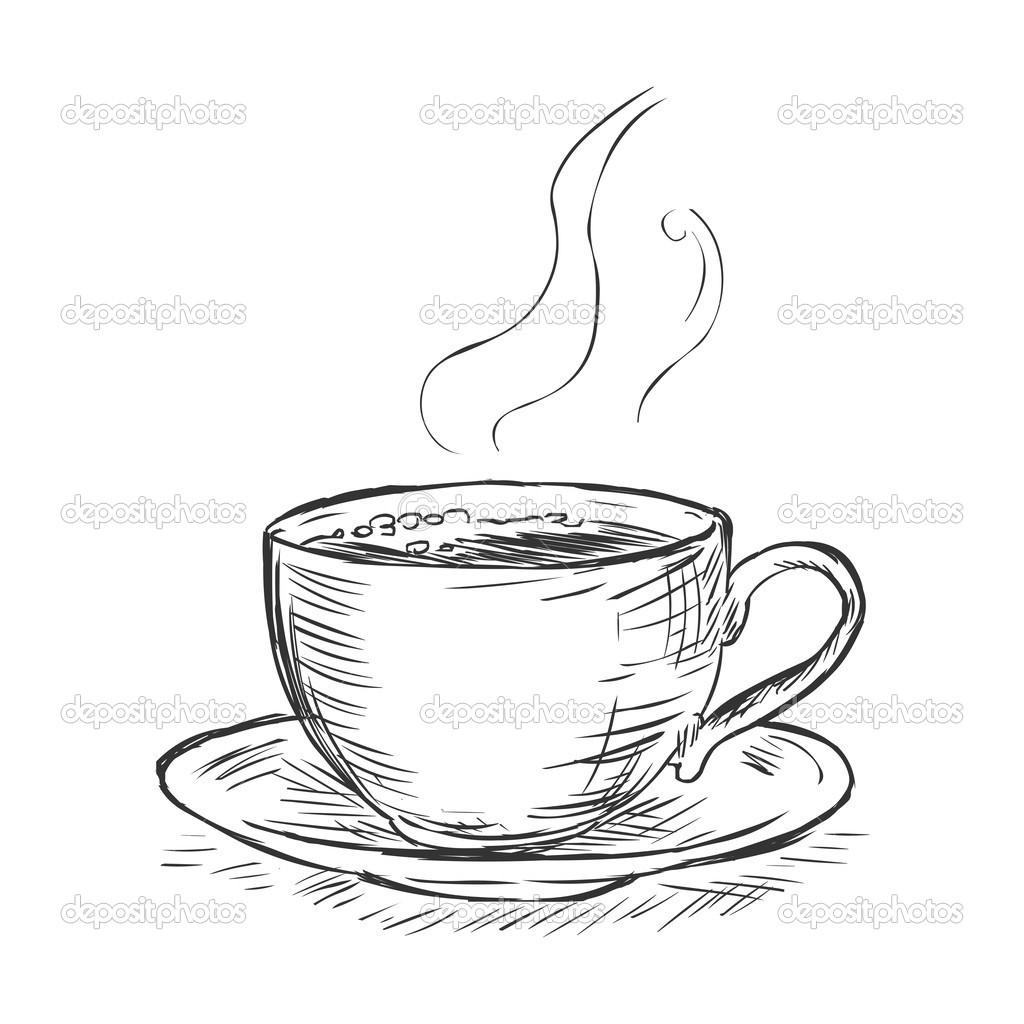 1024x1024 Drawing Of A Coffee Mug