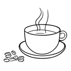 250x250 Ice Coffee Coloring Pages