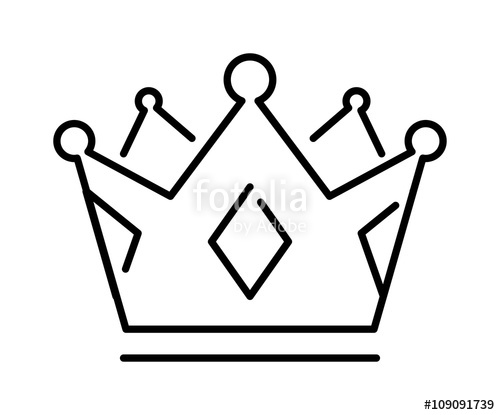 500x415 Crown Of The King Or Royal Crown Line Art Icon Apps Websites