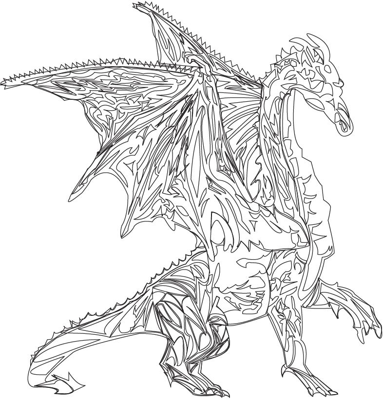 786x822 Scifi And Fantasy Art Line Drawing Dragon By Khalilah K Lah Allah