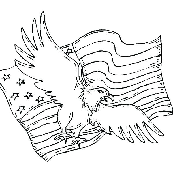 600x600 bald eagle coloring page eagles coloring pages pin bald eagle line - Eagle Coloring Pages 2