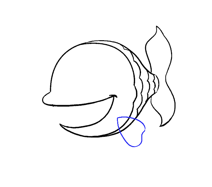 Line Drawing Fish At Getdrawings Com Free For Personal Use Line