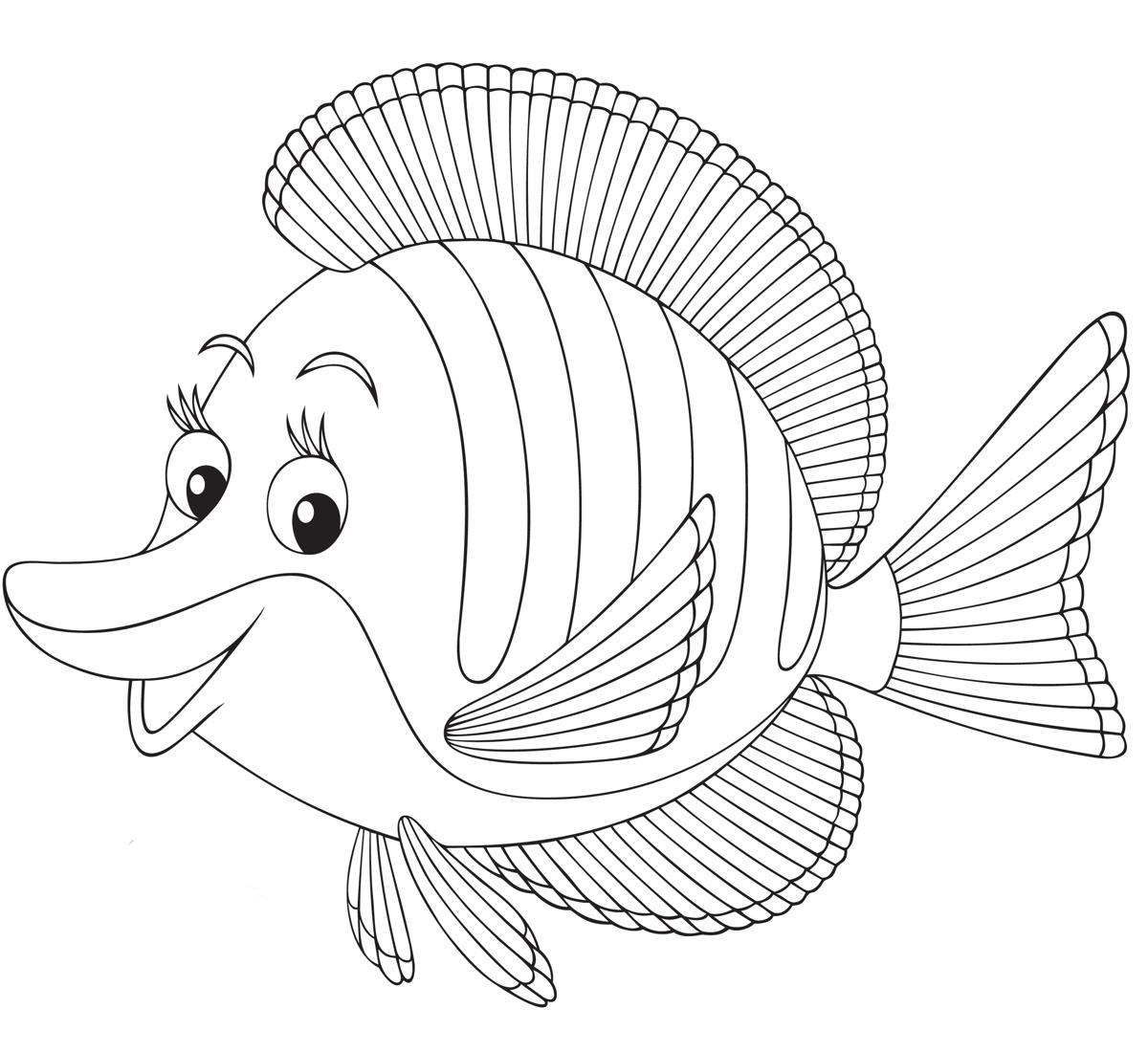 1200x1100 Just Keep Swimming Learn How To Draw A Fish