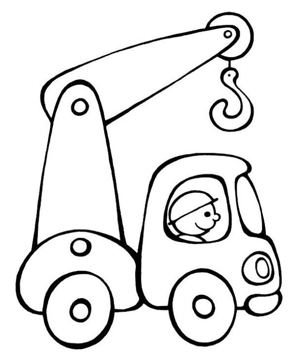 589x720 Truck Drawings For Kids Collection