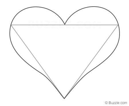 450x370 Easy Instructions To Draw A Heart