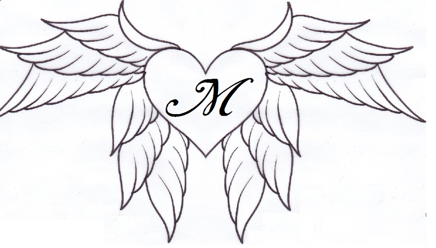 900x513 Heart And Wings By Artemisbarlow