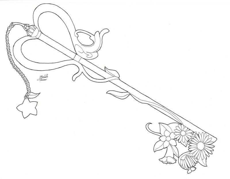800x622 Kairi's Key Blade