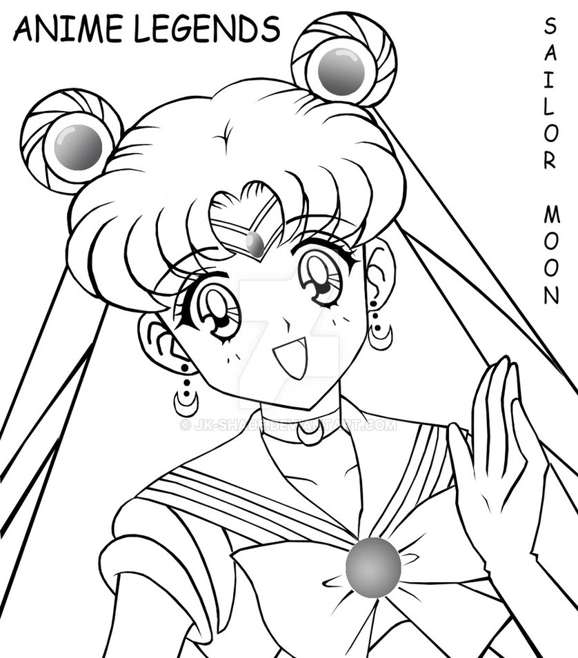 838x954 Sailor Moon