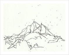 236x188 Pin By Zac On Mountain Sketch Mountain Sketch
