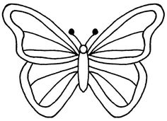 236x171 Free Butterfly Printable Butterfly Drawing, Butterfly