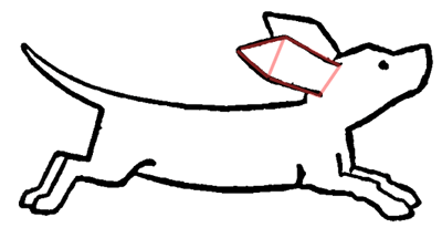 400x215 Drawing Cartoon Dogs Running And Playing Step By Step Lesson