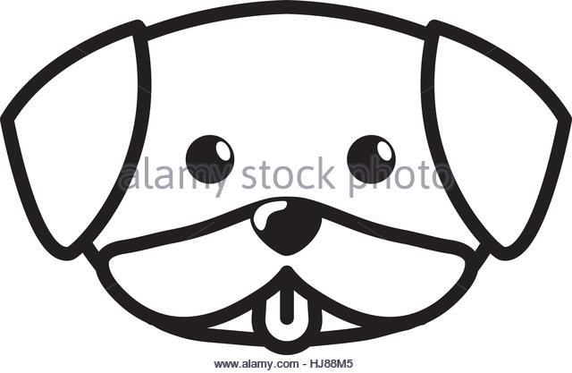 640x417 Line Drawing Puppy Stock Photos Amp Line Drawing Puppy Stock Images