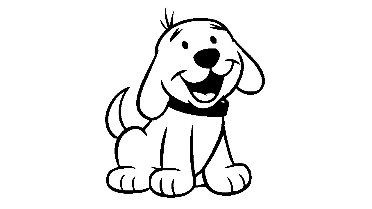 Line Drawing Of A Dog : Line drawing of a dog at getdrawings free for