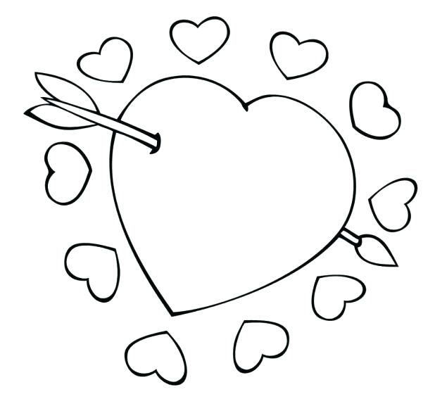 618x567 Heart Shape Coloring Pages Shape Coloring Page Unbelievable Heart
